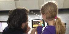 Eerste dag samenwerking tussen kunstenaars en kinderen-jongeren in Utrecht